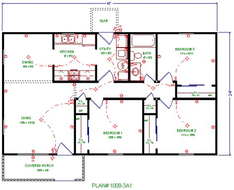House Wiring Plan by Electric Work House Electrical Wiring Plan