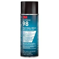 3m 18 oz neoprene 98 rubber and vinyl spray adhesive 98