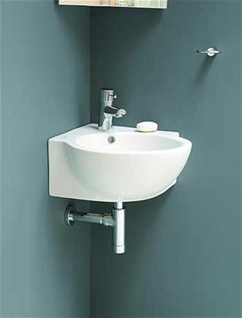 sinks for small spaces corner bathroom sinks creating space saving modern bathroom design
