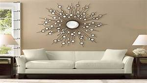 living room decor mirrors With mirror wall decoration ideas living room
