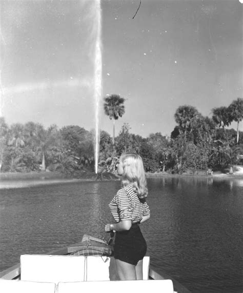 Boat Show Boca Raton by Florida Memory Woman On Boat Bow At Africa Usa Boca