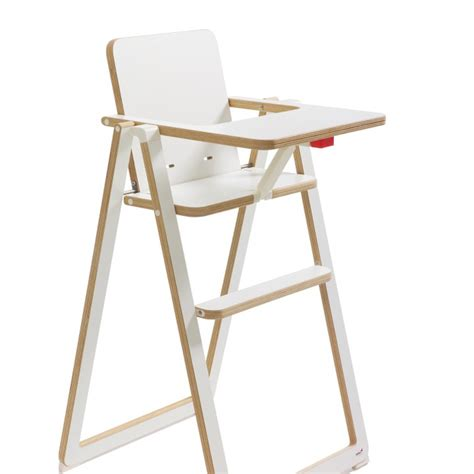 chaise haute pliable supaflat highchair for baby white mon premier doudou