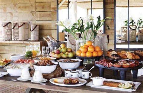 pin  andrea kovacs  castles hotel breakfast buffet