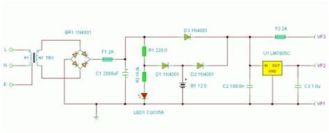 Basic Ups Power Supply Circuit Diagrams