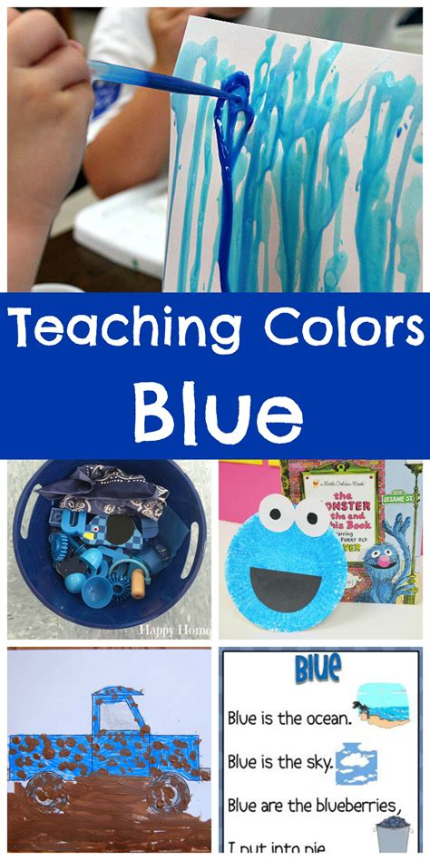 teaching colors blue happy home 828 | Teaching Colors BLUE So many cute ideas for preschoolers