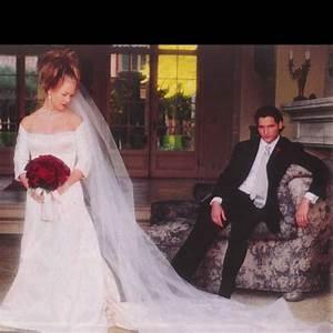 jennie garth peter facinelli sf wedding inspirations With jennie garth wedding dress