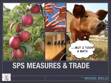 wto sps measures