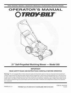 28 Troy Bilt Lawn Mower Parts Diagram