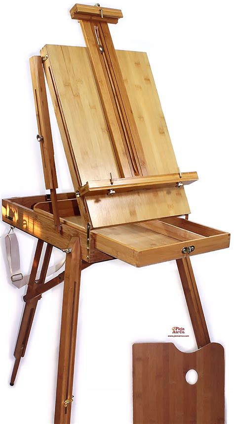 french easel plans  custom wood stain matching