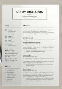 21 resume design templates free psd word designs
