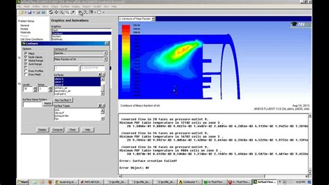 combustion tutorial ansys fluent youtube
