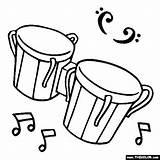 Muzyka Bongo Instrument Malvorlagen Instrumenty Bongos Bongosy Muzyczne Orff Kleurplaten Bęben Basowy Timbales Thecolor öffnen Ugu Tatacancer Musicales sketch template