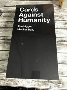 Maybe you would like to learn more about one of these? Cards Against Humanity The Bigger Blacker Box | eBay