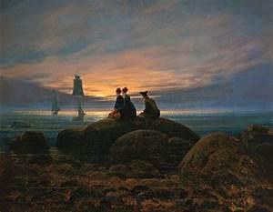 Berühmte Kunstwerke Der Romantik : mondaufgang am meer 1822 von caspar david friedrich geboren am 5 september 1774 in ~ One.caynefoto.club Haus und Dekorationen