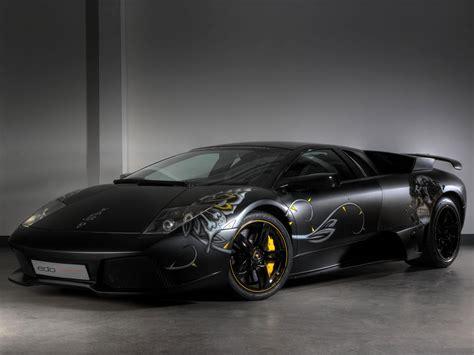 Lamborgini Cars Wallpapers by Luxury Lamborghini Cars Black Lamborghini Murcielago