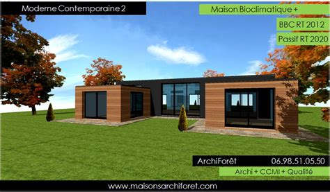 plan maison plain pied 2 chambres garage maison contemporaine moderne et design d architecte