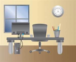 Empty Office Clipart