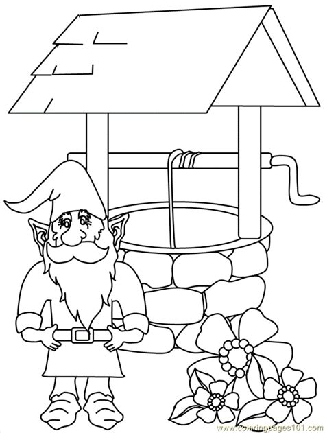 gnomes coloring page  gnomeo juliet coloring pages
