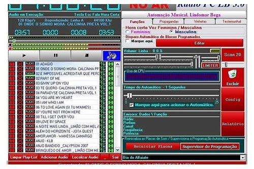 baixar de software de radio na internet