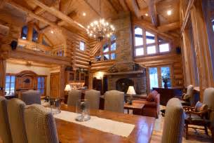 Pictures Of Log Home Interiors Amazing Log Homes Interior Interior Log Home Open Floor Plans Log Home Open Floor Plans