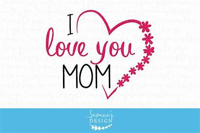 Mom Clipart Svg Mothers Card Cut Creative