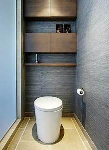 Cuvette Wc Bois : deco wc noir et bois ~ Premium-room.com Idées de Décoration