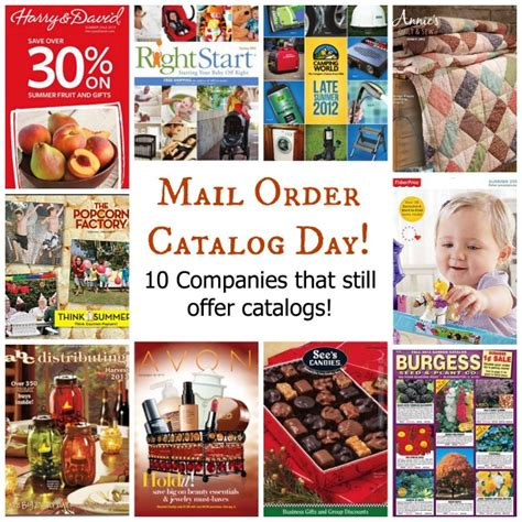 National Mail Order Catalog Day 10 Companies That Still