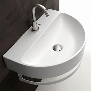 Aufsatzwaschbecken 60 Cm : axa waschbecken halbrund normal 50cm 60cm 70 cm design romano adolini ~ Indierocktalk.com Haus und Dekorationen