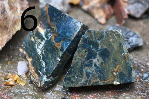 Paket Blue Opal Serat Emas jual blue opal serat emas bongkahan batu akik batu
