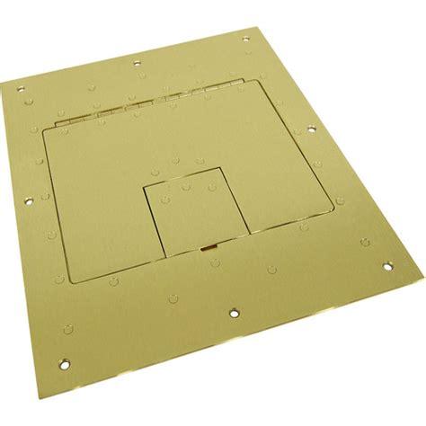 Fsr Floor Box Covers by Fsr Flat Cover For Fl 500p Floor Box Brass Fl 500p Brs B H