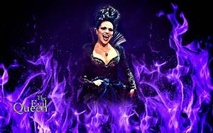 The Evil Queen - Once Upon A Time Wallpaper (30782465 ...