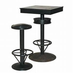 Table Mange Debout Style Industriel : table haute originale style industriel tables hautes pinterest ~ Melissatoandfro.com Idées de Décoration