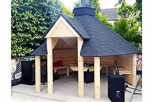 Abri Pour Barbecue Exterieur : the leisure shack abri en bois pour barbecue de 9 2 m ~ Premium-room.com Idées de Décoration