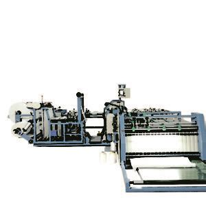auto cutting sealing liner inserting sewing  armstrongex