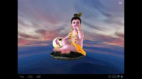 If you have any question or query, please comment below. Krishna's Free animated 3D Mobile App, Live Wallpaper ...
