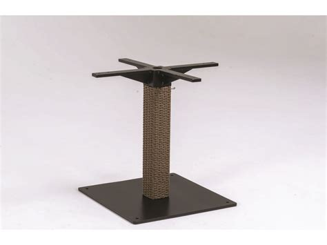 dining table pedestal base only tropitone evo woven dining table base only 360936b