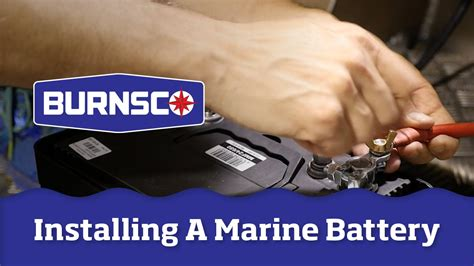 How To Install A Boat Battery by How To Install A Marine Battery In Your Boat