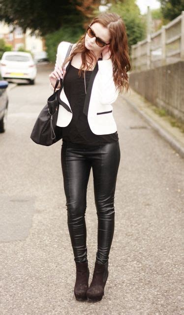 Best Images About Kiff Leggings Shiny Leather Cuir
