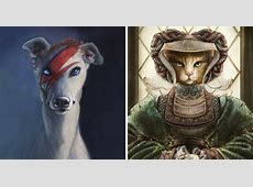 I Painted Anthropomorphic Animals Inspired By Historical