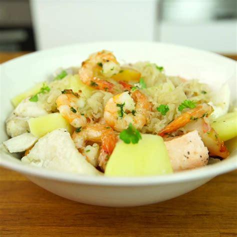 cuisineazcom choucroute de la mer rapide facebook