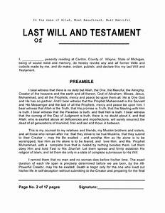 download michigan last will and testament form for free With will document download