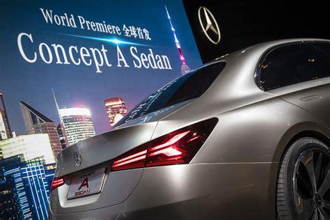 Mercedes Benz Concept A Sedan Debuts In China Autodevot