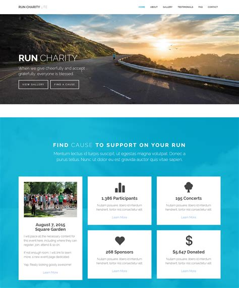 Website Template 16 Premium And Free Charity Website Templates For Awesome