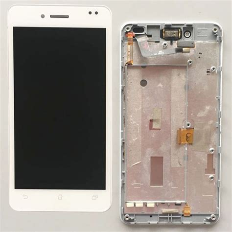 white lcd display glass touch screen digitizer assembly