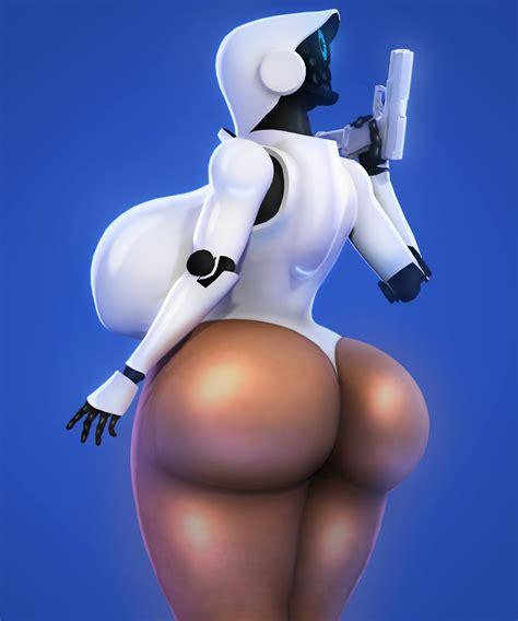 Rule 34 Big Ass Breasts Cyborg Female Gun Haydee Haydee
