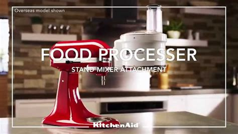 introducing  kitchenaid food processor attachment youtube