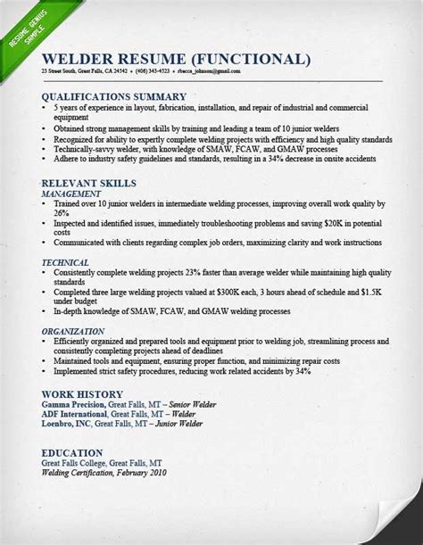 resume examples union workers resume templates