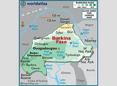 Burkina Faso Map Geography of Burkina Faso Map of