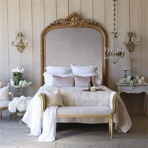 antique mirror headboard 42 cute feminine headboards that create an ambience in a bedroom digsdigs