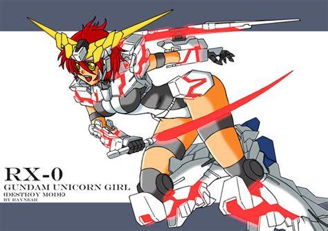 Ms Unicorn Girl Destroy Mode By Raynear On Deviantart
